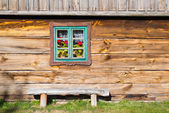 Old rural home in Poland — Stock Photo