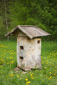 Old bee hive — Stock Photo