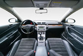Interior of luxury car — Stock Photo