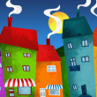 Houses and shops — Stock Photo #32803079