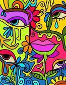 Kleurrijke symbolen — Stockfoto