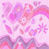 Symboler för kärlek — Stockfoto