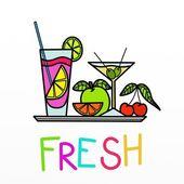Fruit cocktail — Foto de Stock