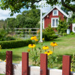 Swedish idyll — Stock Photo