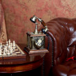 Luxurious vintage interior — Stock Photo