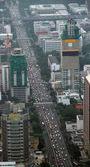 Traffico in città — Foto Stock