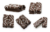 čokoládové dorty — Stock fotografie