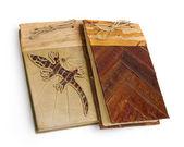 Original decorated notebook — Stock Photo