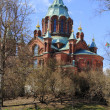 The Uspenski cathedral — Foto Stock