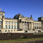 Das Reichstagsgebaeude — Stock Photo