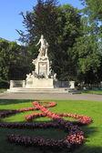 Estatua conmemorativa de mozart — Foto de Stock