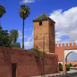 Marrakech Old City Walls — Stock Photo