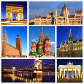 Impressions de monuments européens — Photo