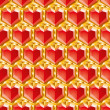 Valentine diamonds - Foto de Stock
