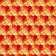 Valentine diamonds — Vettoriali Stock