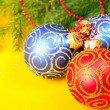 Christmas baubles — Stock Photo #14936595