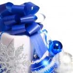 Christmas gift box — Stock Photo