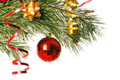 Christmas ball — Stock Photo
