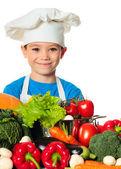 Cook boy — Stock Photo