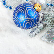 Christmas baubles — Foto de stock #35782043