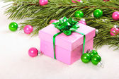 Christmas gift — Stock Photo