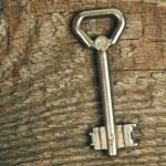 vieja llave — Foto de Stock