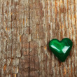 Stock Photo: Malachite heart