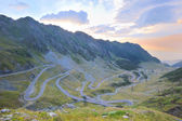 Transfagarasan Road, Fagaras Mountains — Stock Photo