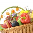 Stock Photo: Harvest basket