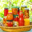 Autumn preserves - Stock Photo