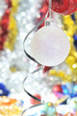 Christmas ball decoration — Stockfoto
