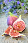 Ripe fresh fig — Stock Photo