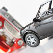 Royalty-Free Stock Photo: Two cars in an accident