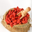 Red dried goji — Stock Photo