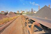 Excavatrice de roue pour creuser la lignite — Photo
