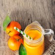 Clementine juice — Stock Photo