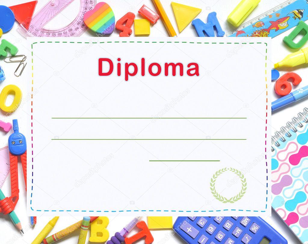 Free Preschool Graduation Diplomas
