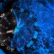 Stock Photo: Tritium military watch