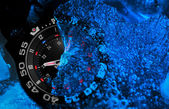 Tritium military watch — Stock Photo