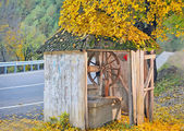 Countrry Old Well — Stok fotoğraf