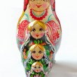 Russian doll babushka — Stock Photo