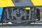 Railway wheels wagon recondition — Photo