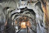 Inside of salt mine — Stock Photo