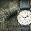 Stock Photo: Military watch