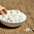 Oatmeal powder — Stock Photo