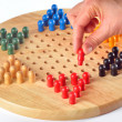 Stock Photo: Chinese checkers