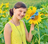 Portrait of a beautiful young Teenage — Stock Photo