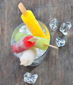 Frutta ghiaccio si apre — Foto Stock