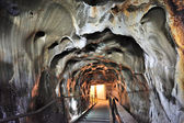 Inside of salt mine — Stock Photo