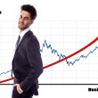 Stock Photo: Business growth
